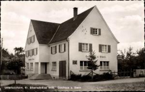 Ak Unterbalzheim Balzheim Alb Donau Kreis, Gasthaus zum Stern