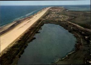 Ak Nordseebad Juist in Ostfriesland, Insel Juist Fliegeraufnahme