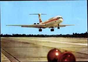 Ak Deutsches Passagierflugzeug, Iljuschin IL 62, Interflug