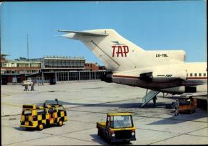 Ak Flughafen Frankfurt am Main, Portugiesisches Passagierflugzeug, TAP Air Portugal, CS TBL
