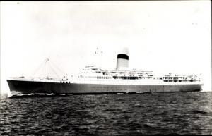 Foto Ak Steamer Pendennis Castle, Dampfschiff, Union Castle Line