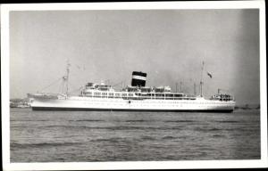 Foto Ak Steamer Uganda, Dampfschiff, British India Steam Navigation Company