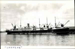 Ak Steamer Rotorua, Dampfschiff, New Zealand Line