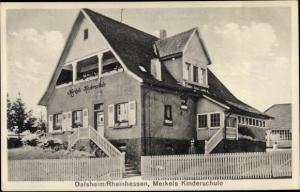 Ak Flörsheim Dalsheim in Rheinhessen, Merkels Kinderschule