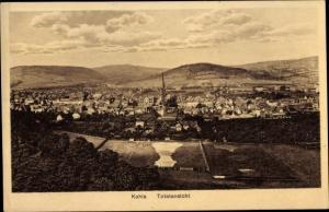 Ak Kahla im Saale Holzland Kreis Thüringen, Totalansicht