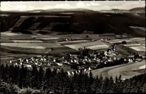 Ak Wiemeringhausen Olsberg im Sauerland, Panorama