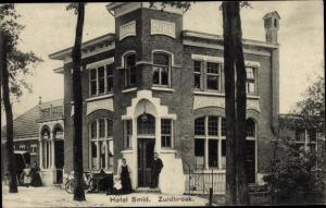 Ak Zuidbroek Groningen Niederlande, Hotel Smid