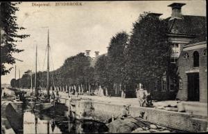 Ak Zuidbroek Groningen Niederlande, Diepswal