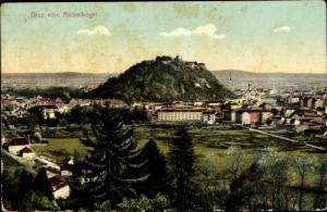 Ak Graz Steiermark, Blick vom Rainerkogel