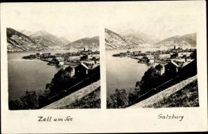 Stereo Ak Zell am See in Salzburg, Panorama