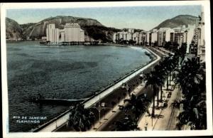 Ak Rio de Janeiro Brasilien, Flamengo