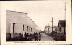 Ak Trappes Yvelines, Lotissement de la Gare, Avenue Marceau