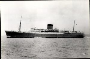 Foto Ak Steamer Pretoria Castle, Dampfschiff, Union Castle Line