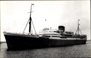Foto Ak Steamer Stirling Castle, Dampfschiff, Union Castle Line