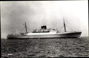 Foto Ak Steamer Rhodesia Castle, Dampfschiff, Union Castle Line