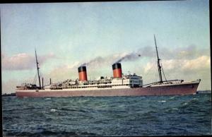 Ak Steamer Arundel Castle, Dampfschiff, Union Castle Line