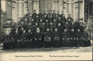 Ak Tonkin Vietnam, Grand Seminaire de Hanoi, The Grand Seminaire of Hanoi