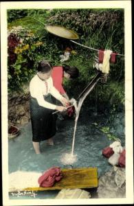Ak Lai Châu Vietnam, Scene de lavage
