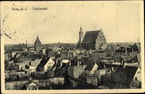 Ak Żary Sorau Niederlausitz Ostbrandenburg, Panorama