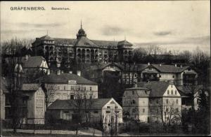Ak Lázně Jeseník Gräfenberg Freiwaldau Reg Olmütz, Sanatorium