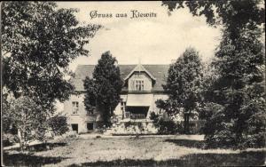 Ak Kijewice Kiewitz Skwierzyna Schwerin Warthe Ostbrandenburg, Blick auf ein Haus