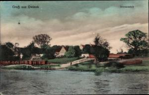 Ak Owinsk Owińska Treskau Posen, Irrenanstalt