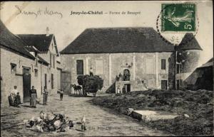 Ak Jouy le Châtel Seine et Marne, Ferme de Beaupré