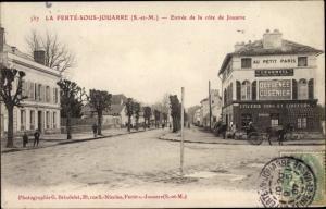 Ak La Ferté sous Jouarre Seine et Marne, Entrée de la côte de Jouarre