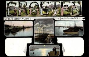 Ak Scheveningen Den Haag Südholland, Vissershaven
