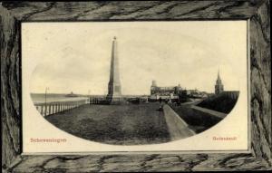 Passepartout Ak Scheveningen Den Haag Südholland, Gedenkzuil, Denkmal