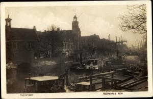 Ak Rotterdam Südholland Niederlande, Aelbrechts Kolk