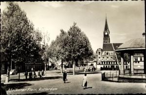 Ak Rotterdam Südholland Niederlande, Afrikaner Plein