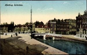 Ak Rotterdam Südholland Niederlande, Heulbrug