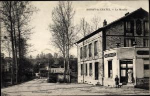 Ak Boissy-le-Châtel Seine et Marne, Le Moulin