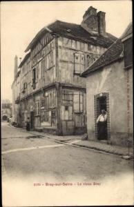 Ak Bray sur Seine Seine et Marne, Le vieux Bray