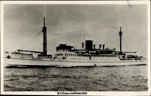 Ak Steamer Matua, Dampfschiff, Union Steamship Co. New Zealand