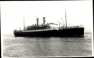 Foto Ak Steamer Orama, Dampfschiff, Orient Line