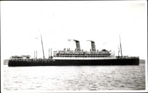 Foto Ak Steamer Otranto, Dampfschiff, Orient Line