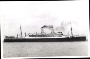 Foto Ak Steamer Orford, Dampfschiff, Orient Line