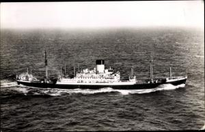 Ak Dampfer Pyrrhus, Blue Funnel Line