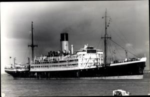 Ak Dampfer Antenor, Blue Funnel Line