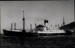 Ak Dampfer Peleus, Blue Funnel Line
