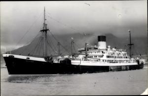 Ak Dampfer Hector, Blue Funnel Line