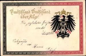 Wappen Ak Adler, Deutschland