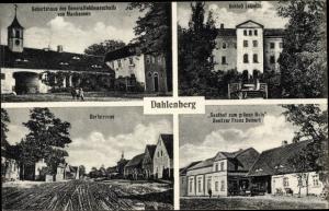 Ak Dahlenberg in der Dübener Heide, Geburtstshaus GenFeldm. von Mackensen, Gasthof zum grünen Hain