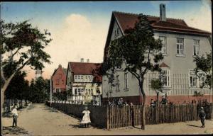 Ak Herzberg Elster, Gartenstraße