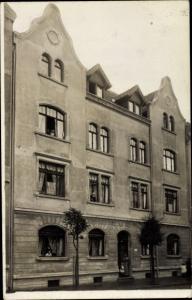 Foto Ak Nordhausen am Harz, Wohnhaus