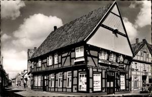 Ak Quakenbrück in Niedersachsen, Gaststätte zur Hopfenblüte