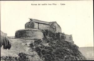 Ak Ingapirca Cañar Ecuador, Ruinas del castillo Inca Pilca
