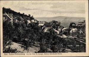 Ak Salmünster Bad Soden in Hessen, Blick von der Villa St. George